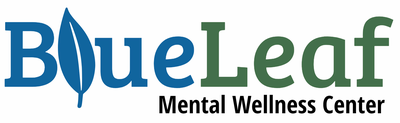 Blue Leaf Mental Wellness logo
